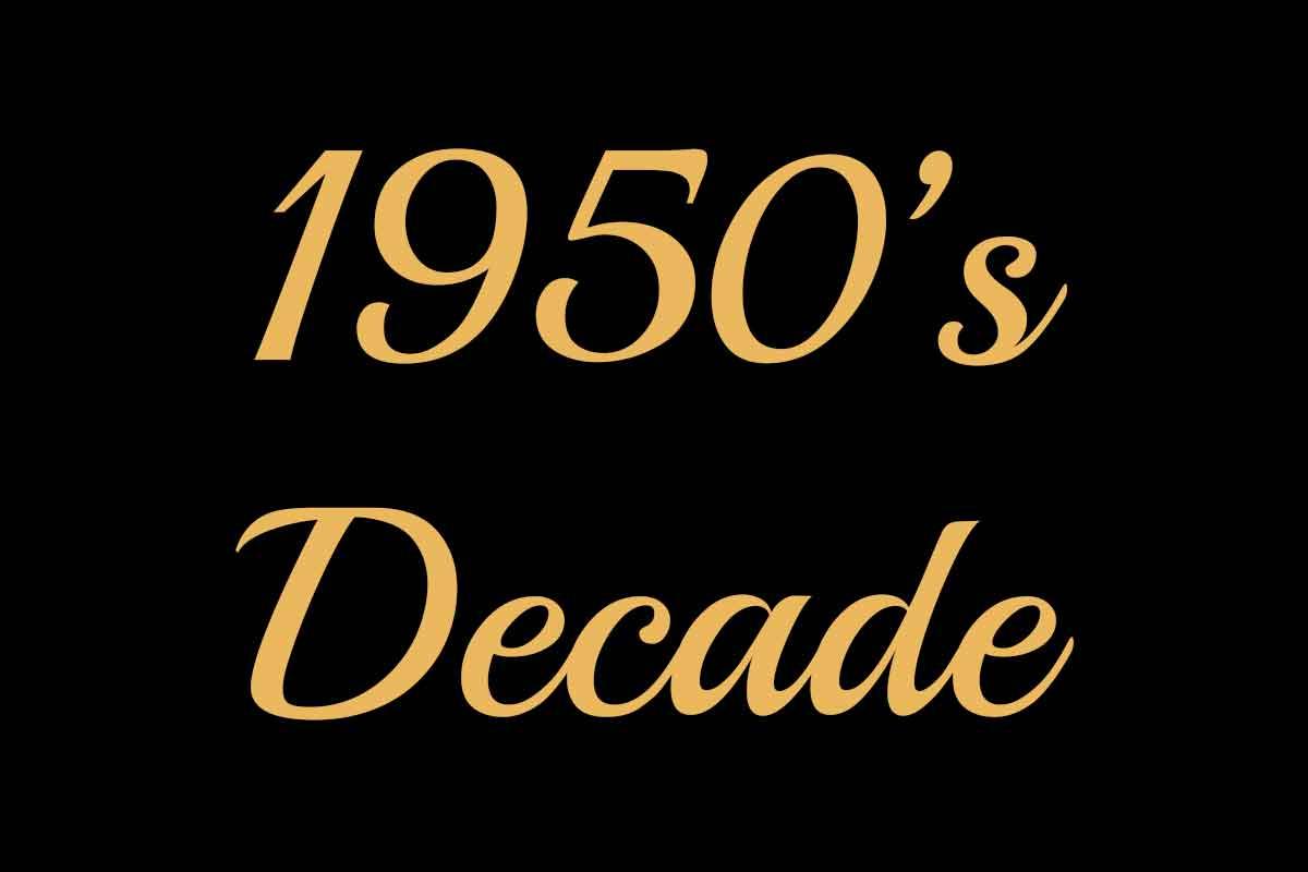 1950 decade