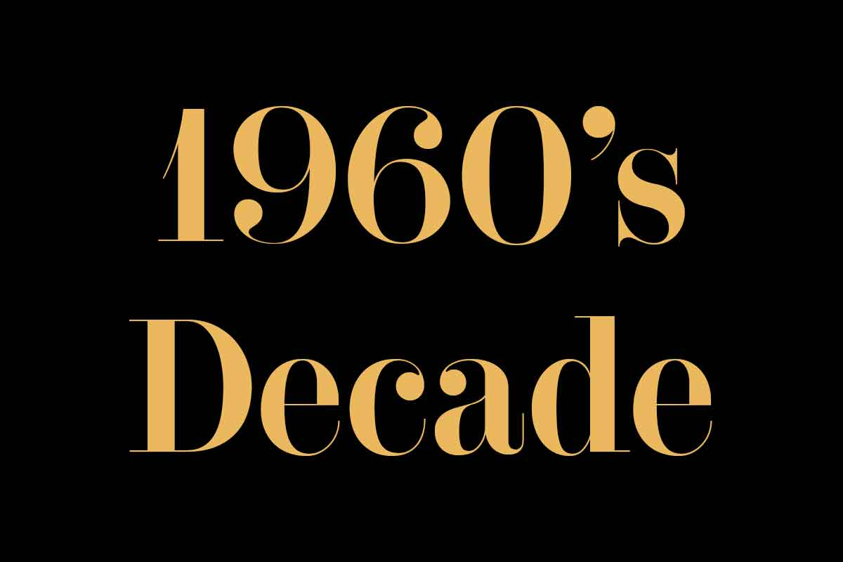 1960 Decade