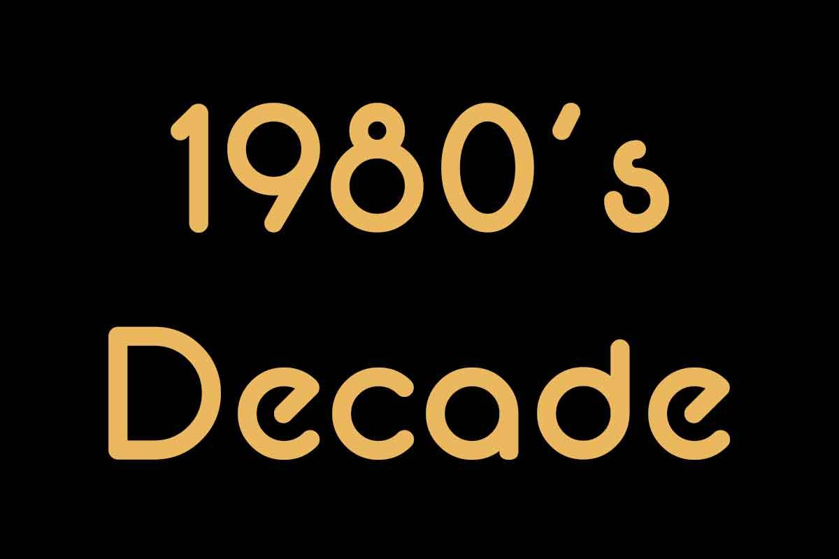 1980 Decade