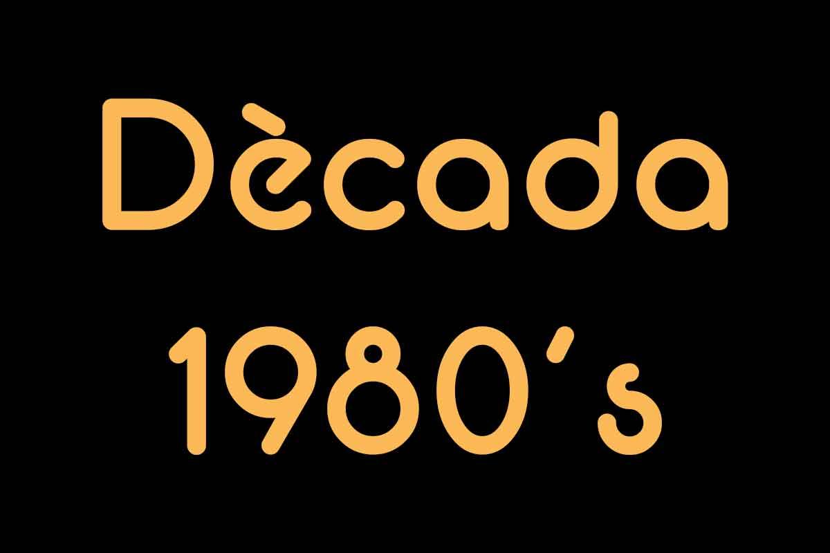 Campions dècada 1980